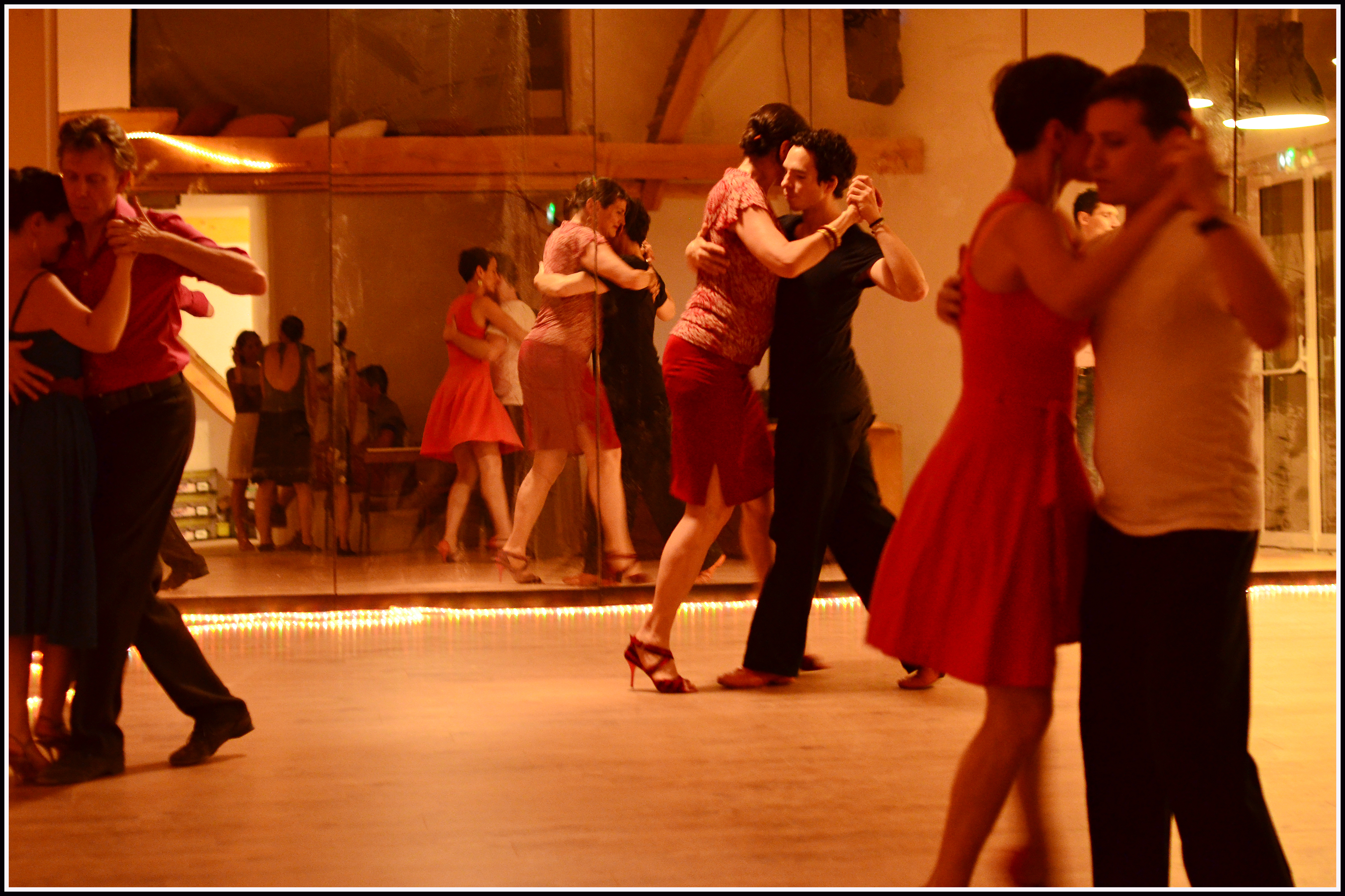 Tango argentin milonga soirée